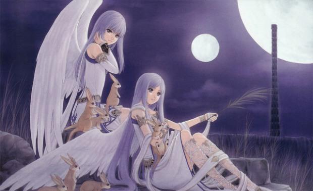 angeles con animales